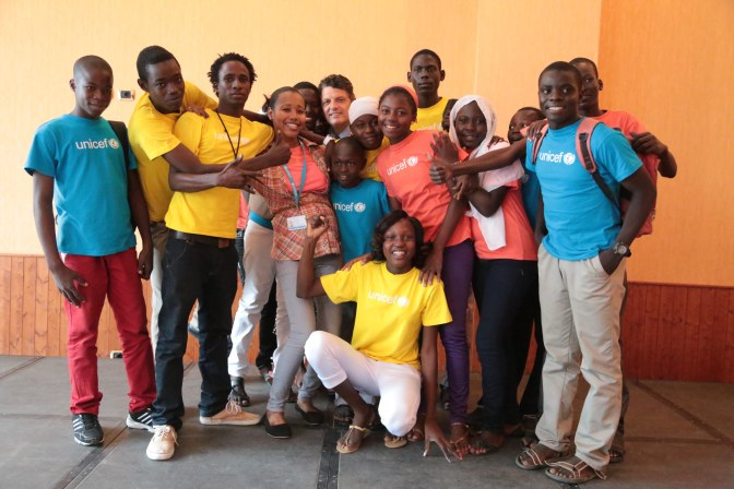Young Chadians express their views on violence