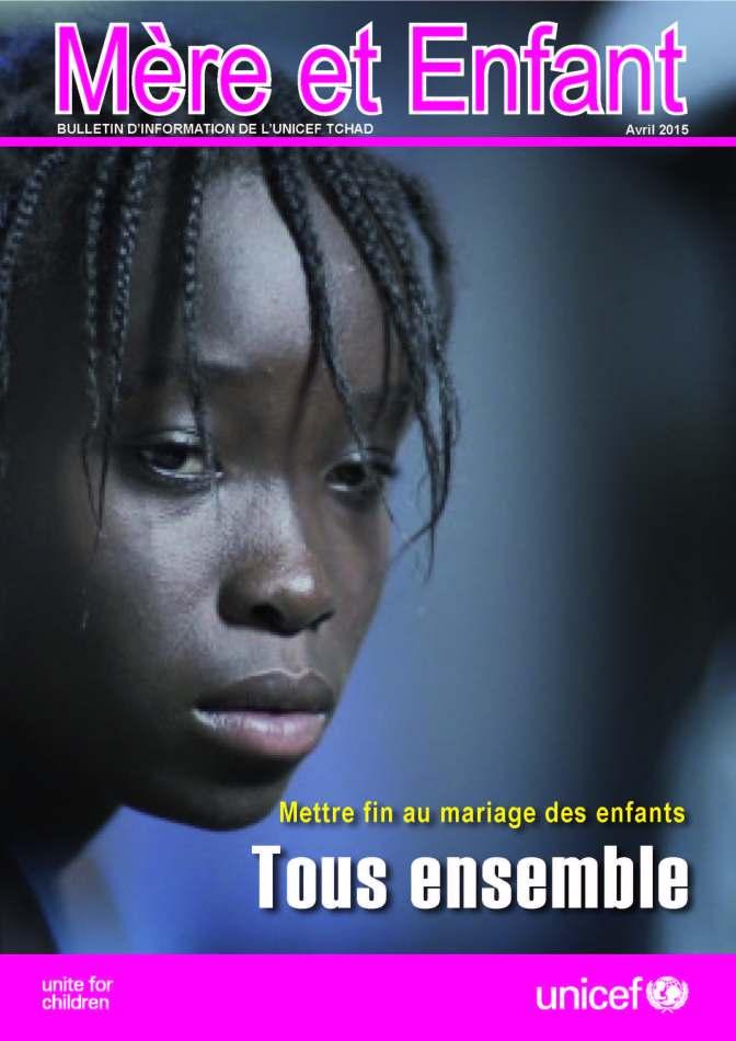 MERE ET ENFANT: Bulletin d'information de l'UNICEF Tchad/Mois d'avril