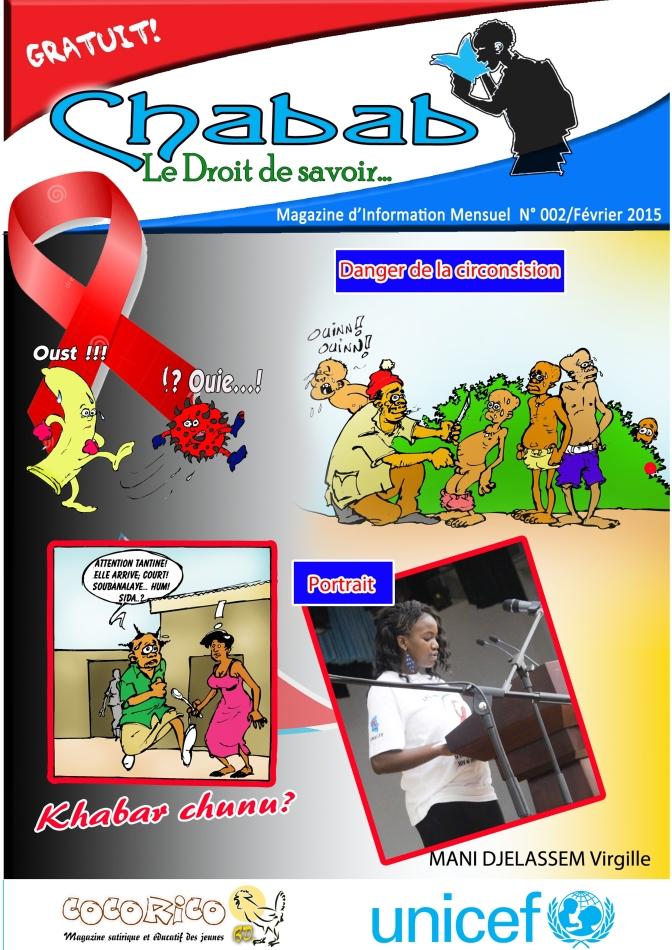 Chabab Magazine Fevrier 2015, Special VIH SIDA