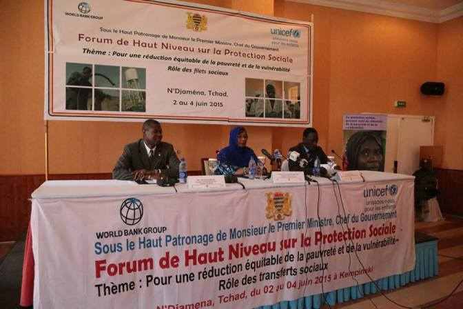 Premier Forum de haut niveau sur la protection sociale au Tchad.