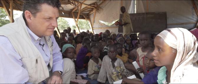 Progrès et défis : Interview de Mr Bruno Maes, Représentant de l'UNICEF au Tchad