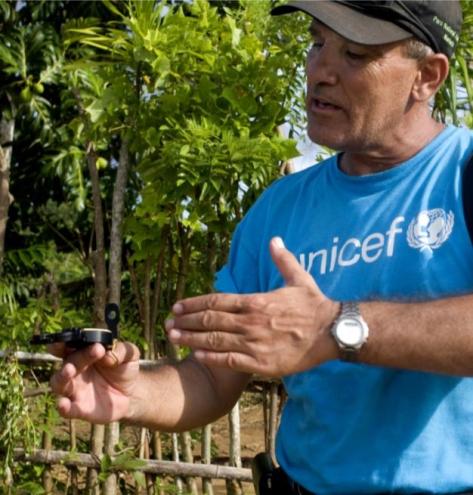 Mario Bacigalupo - Spécialiste en Construction à l'UNICEF