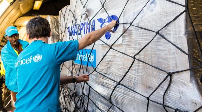 Panalpina affrète un cargo de 81,2 tonnes pour la réponse humanitaire de l'UNICEF au Tchad