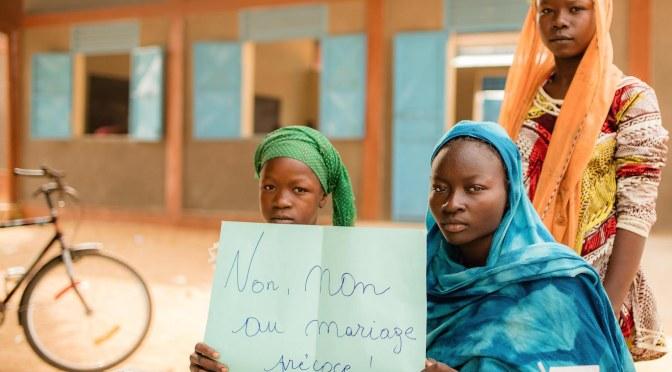 L'UNICEF Tchad se félicite de l'adoption du nouveau Code Pénal interdisant le mariage des enfants