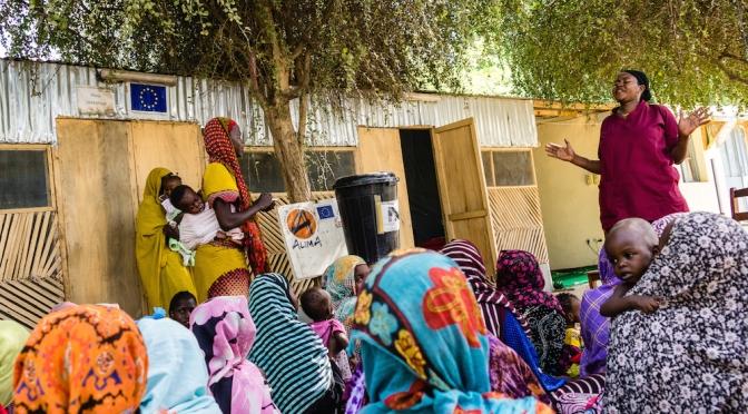 EU donates additional €4 million to UNICEF to combat child malnutrition in Chad