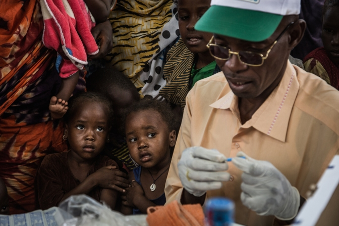 A shot to live: Meningitis immunization in Chad