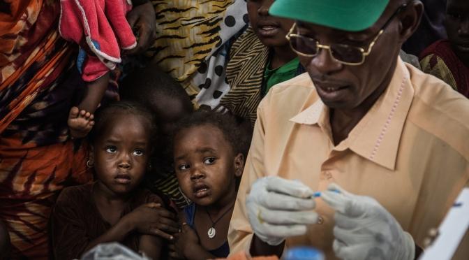 A shot to live: Meningitis immunization in Chad