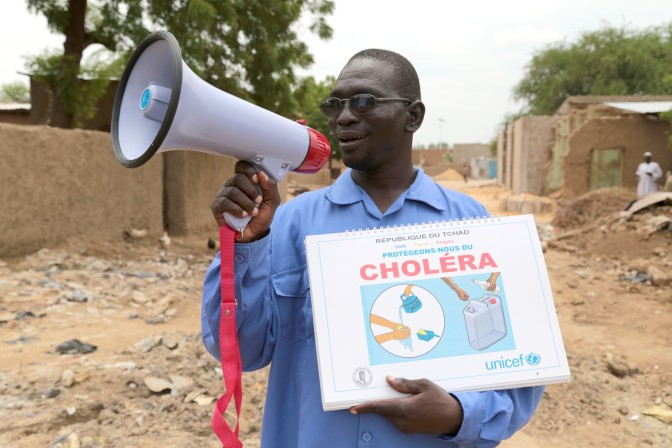 Tackling cholera in Chad