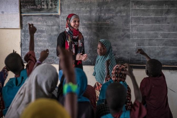 UNICEF nomme la réfugiée syrienne Muzoon Almellehan comme ambassadrice de bonne volonté, une première historique