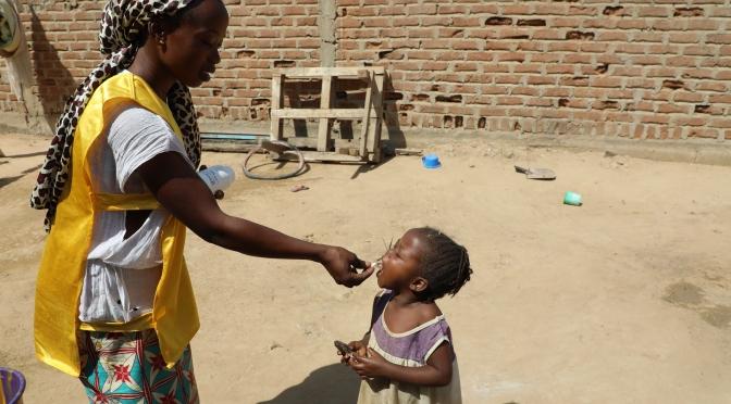 Les efforts de vaccination contre la Poliomyélite continuent au Tchad: plus de 2 millions d'enfants ont été vaccinés en novembre 2017.