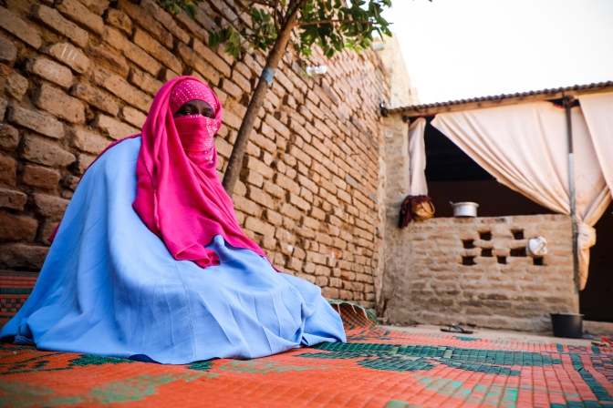 A woman's voice against cholera
