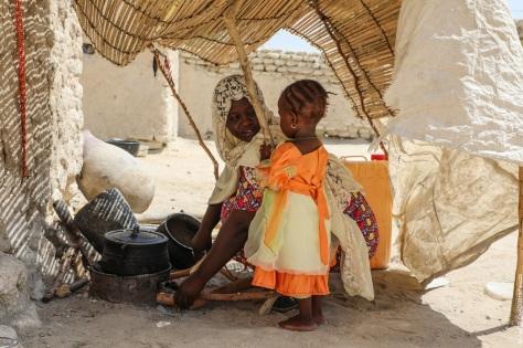 Enfant gueri de la malnutrition
